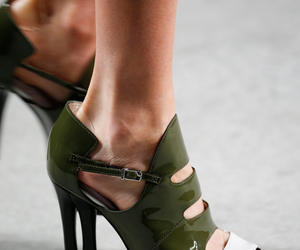 fendi, high heels, and runway image
