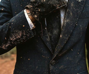 dirty, man, and suit image