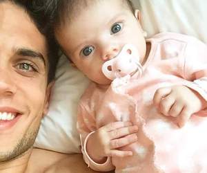 marc bartra, baby, and bartra image