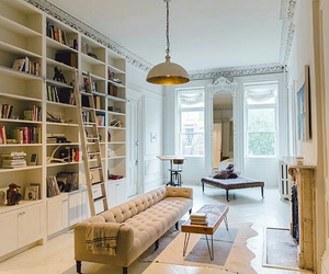 architecture, books, and classy image
