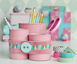 diy, pencil, and pink image