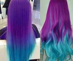 pretty hair and love the colors image