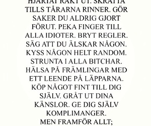 swedish, text, and love image