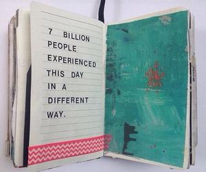 book, 7 billion, and instagram image