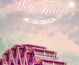 travel, quotes, and happiness image