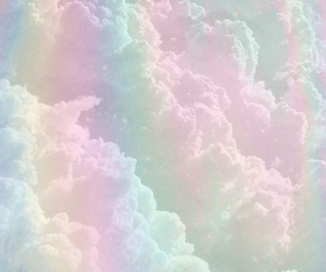 clouds and pastel image