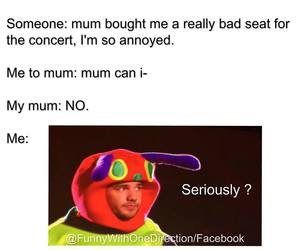 concert, niall horan, and funny image