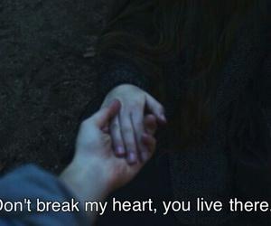 black, break, and heart image