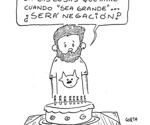 birthday, frase, and old image