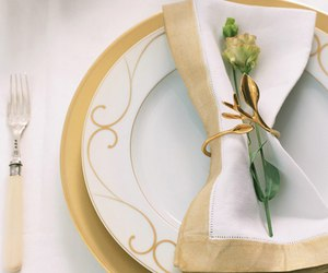 color and table setting image