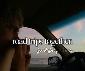 road trips, just girly things, and goals image