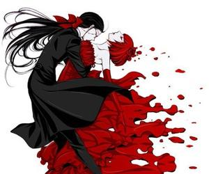 kuroshitsuji, grell sutcliff, and madam red image