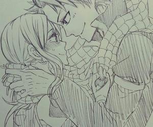anime, fairy tail, and nalu image