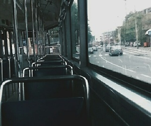 alternative, autumn, and bus image