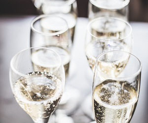 champagne, drink, and classy image