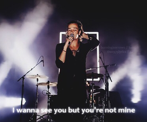 the 1975, quote, and band image