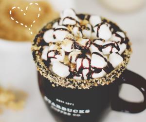coffee, starbucks, and chocolate image