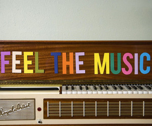 feel and music image