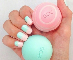 eos, nails, and pink image