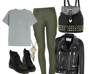 fashion, Polyvore, and studds image