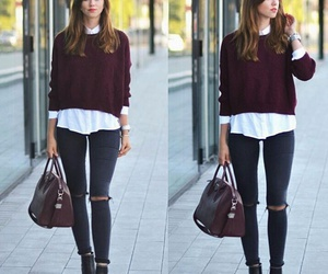 casual, ootd, and fashion image