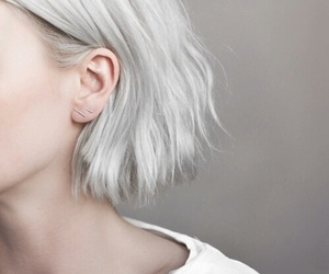 beautiful, ear, and white image