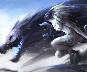 league of legends and kindred image