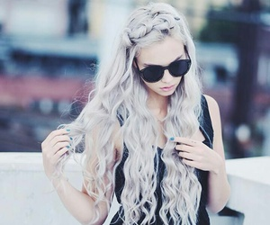 hair, style, and goals image
