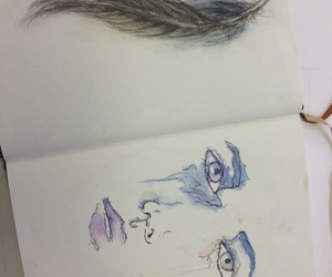 art, draw, and face image