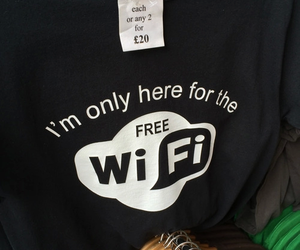 wifi and black image
