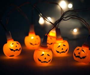 decoration, Halloween, and citrouille image