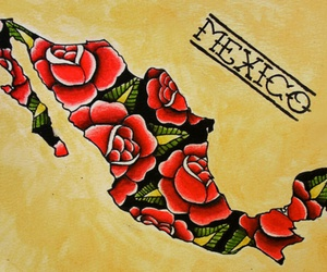 mexico and rose image