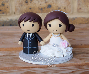 76 Images About Cute Wedding Cake Toppers On We Heart It