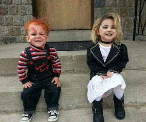 Halloween, kids, and Chucky image