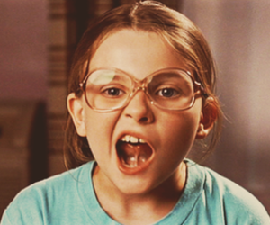 girl, little miss sunshine, and glasses image