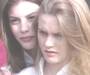 alicia silverstone, liv tyler, and 90s image