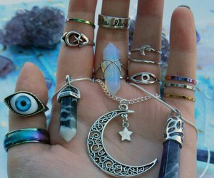 accessories, crystals, and cuarzos image