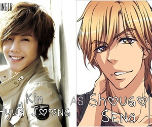 kim hyun joong, ss501, and love stage image