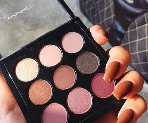 makeup, mac, and nails image