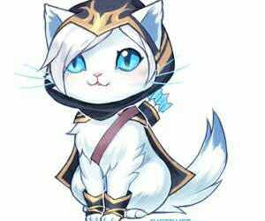 ashe, kawaii, and league of legends image