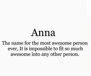anna, awesome, and collection image