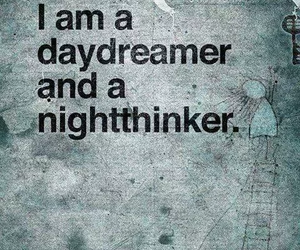 quotes, daydreamer, and night image