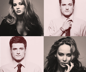 Jennifer Lawrence, josh hutcherson, and josh image