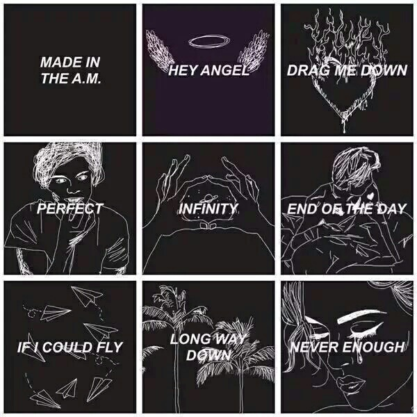Songs of the new album on We Heart It