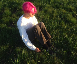 90s, pink, and pink hair image
