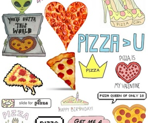 pizza, tumblr, and wallpaper image