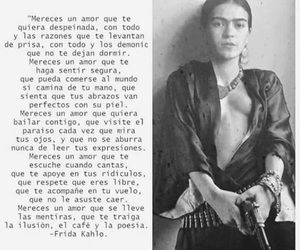 Frida, frida kahlo, and ​amor image