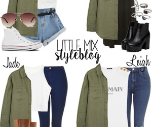 outfit, little mix, and little mix style image