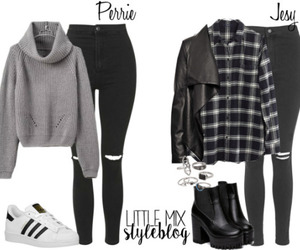 outfit, little mix inspired, and perrie edwards inspired image