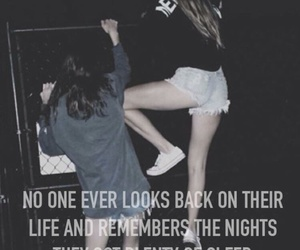night, quote, and grunge image